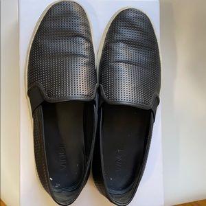 Vince Blair slip on- black leather